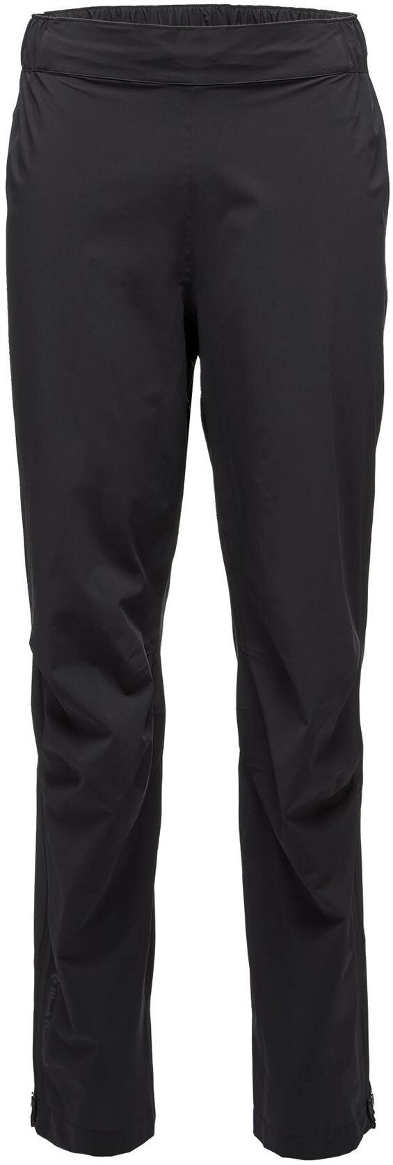 Vaude Grody Pants IV niños lluvia pantalones negro